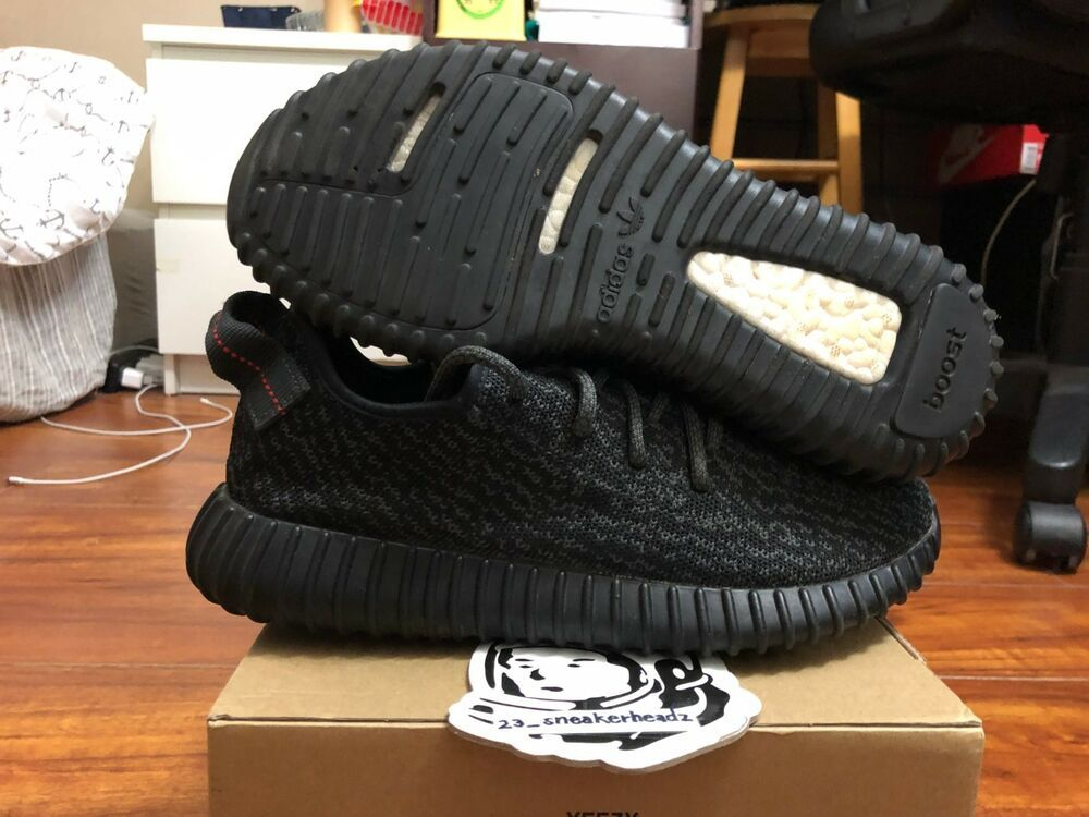 b81fe7c897d2 goVerify Genuine Seller  23 Sneakerheadz  One of our favorite sellers on  eBay. For Sale  Adidas yeezy boost 350 Pirate Black.