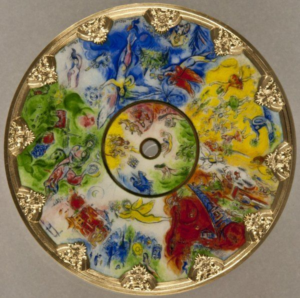 Almost a mandala by Chagall - Google Search