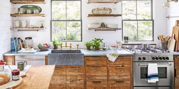 Cuisine cottage : succombez au charme du style anglais ! | Cuisine ...