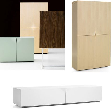 Modern Cabinet Design golden mean:geek mathematical ratio for diving space to make it