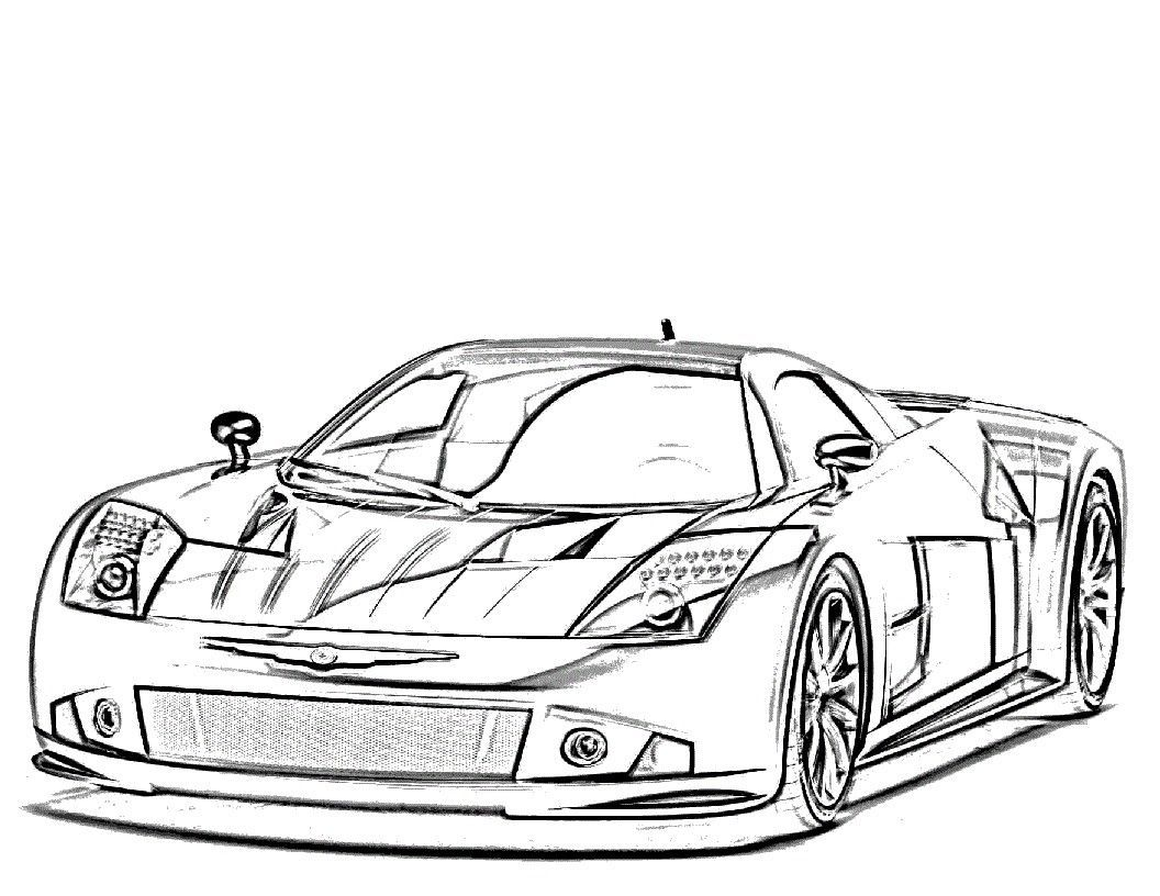 Race Cars Coloring Pages 4 Free Car 25 Sports For Lds