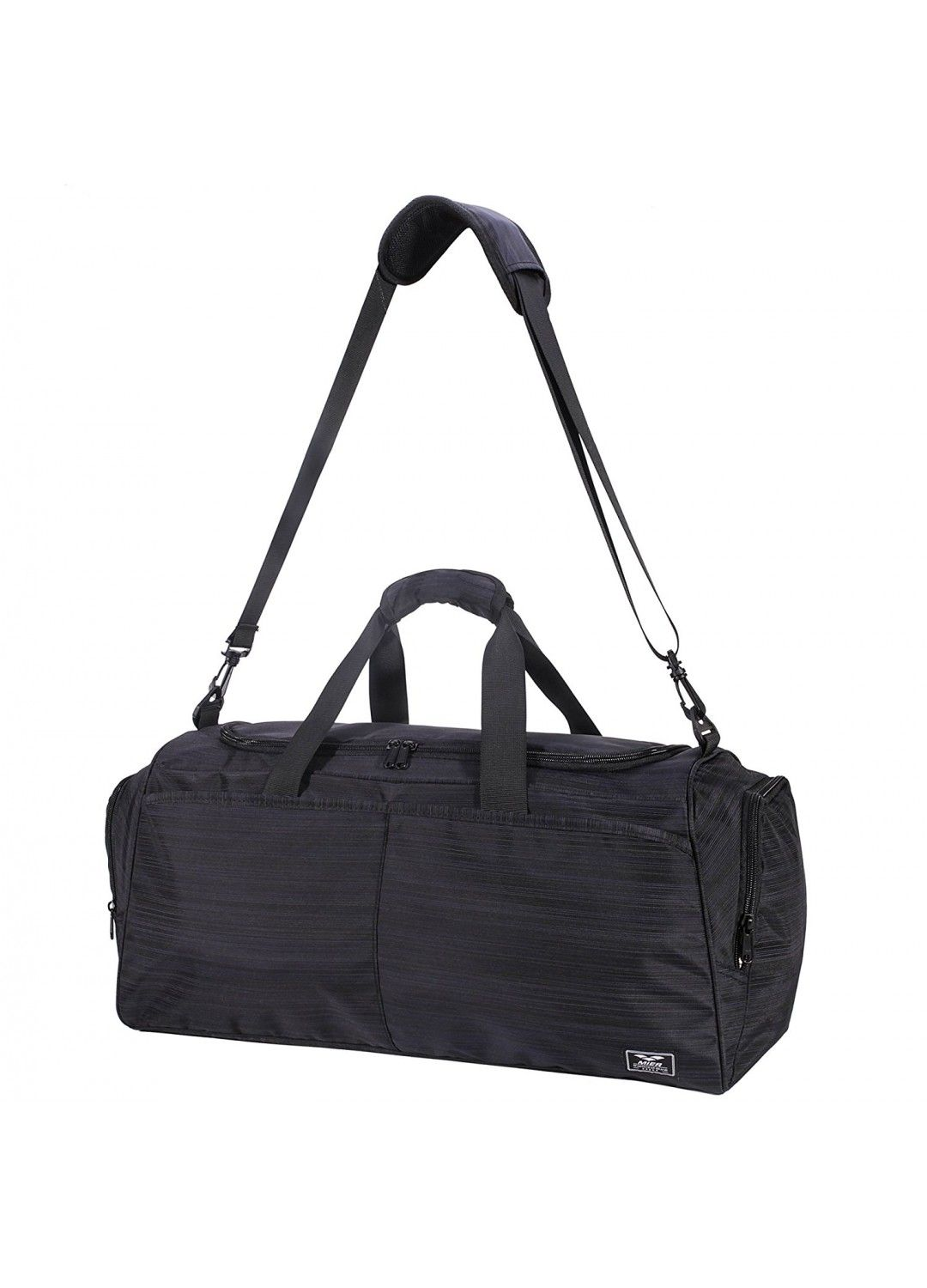 MIER Gym Bag for Women and Men Sports Duffle with shoe