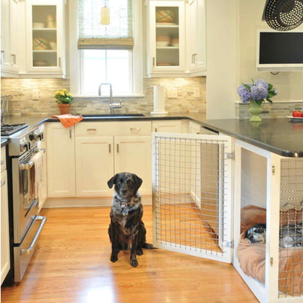 Pets Built In Dog Bed Dog Houses Dog Crate