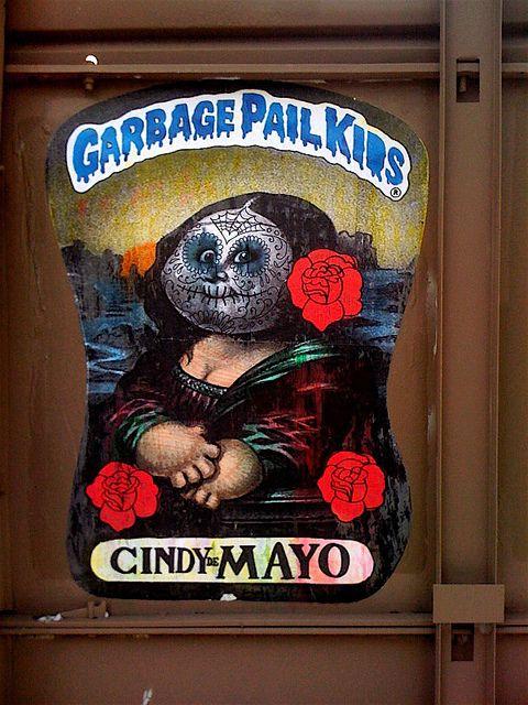 Garbage Pail Kids Cindy De Mayo Garbage Pail Kids Garbage Pail Kids Cards Kids Stickers