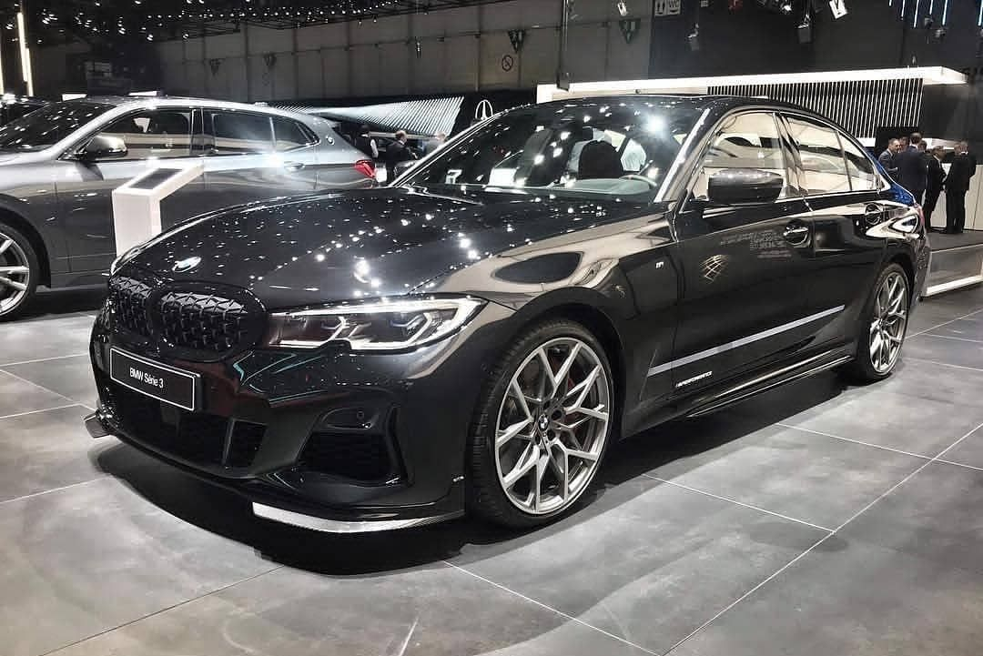 The All New Bmw M340i With M Performance Parts At The 2019 Geneva