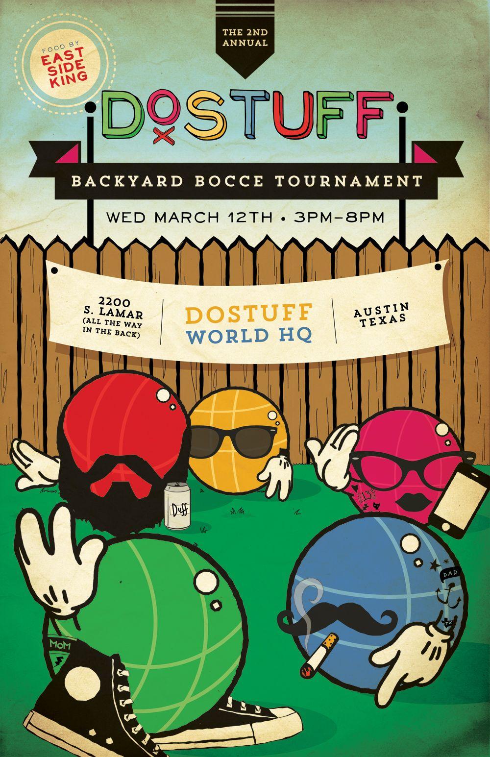 sx 2014 2nd annual backyard bocce tournament at dostuff world