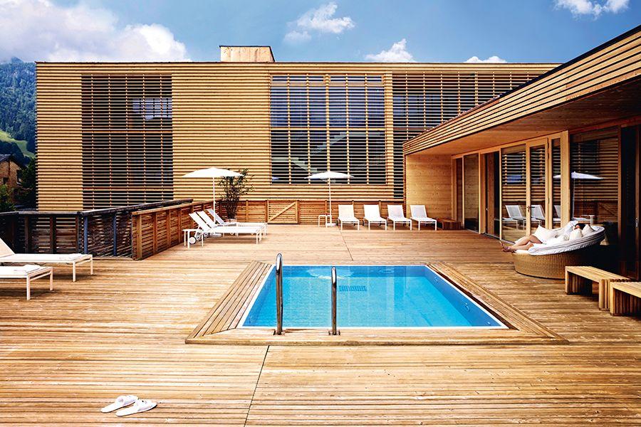 Solebecken im hotel post bezau detox urlaub im hotel for Designhotel vorarlberg
