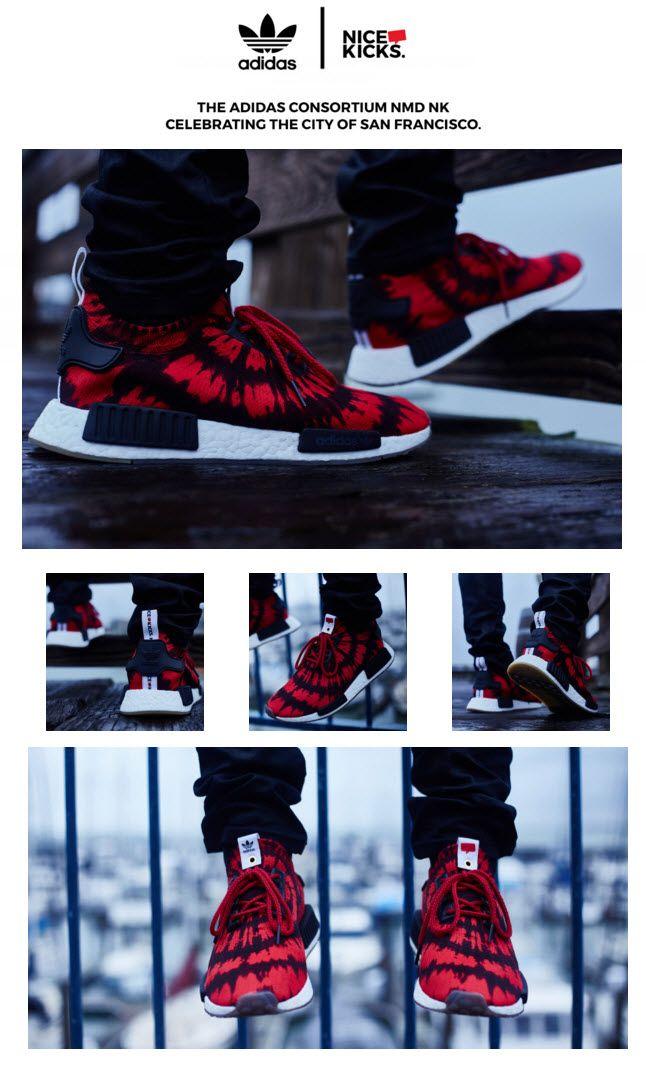 Nice Kicks x adidas Consortium NMD | Adidas sneakers