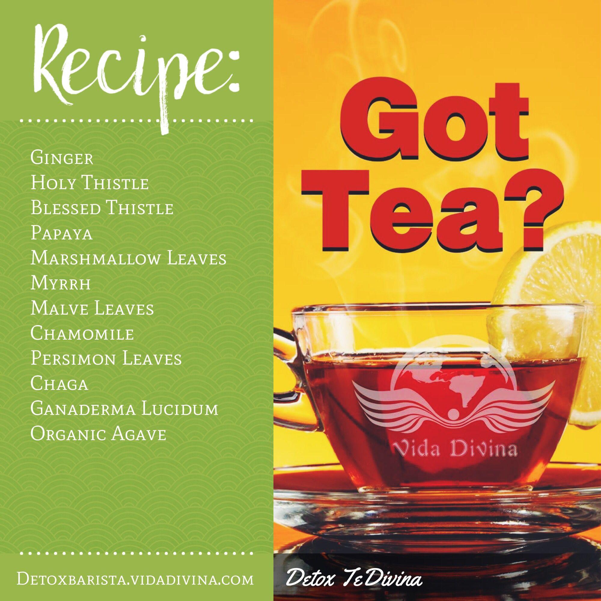 vida divina fogyókúrás tea