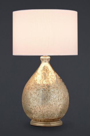 Buy small floral mercury glass table lamp from the next uk online buy small floral mercury glass table lamp from the next uk online shop aloadofball Images
