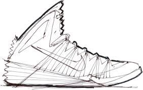 High Quality Basketball Shoe Drawing   Google Search