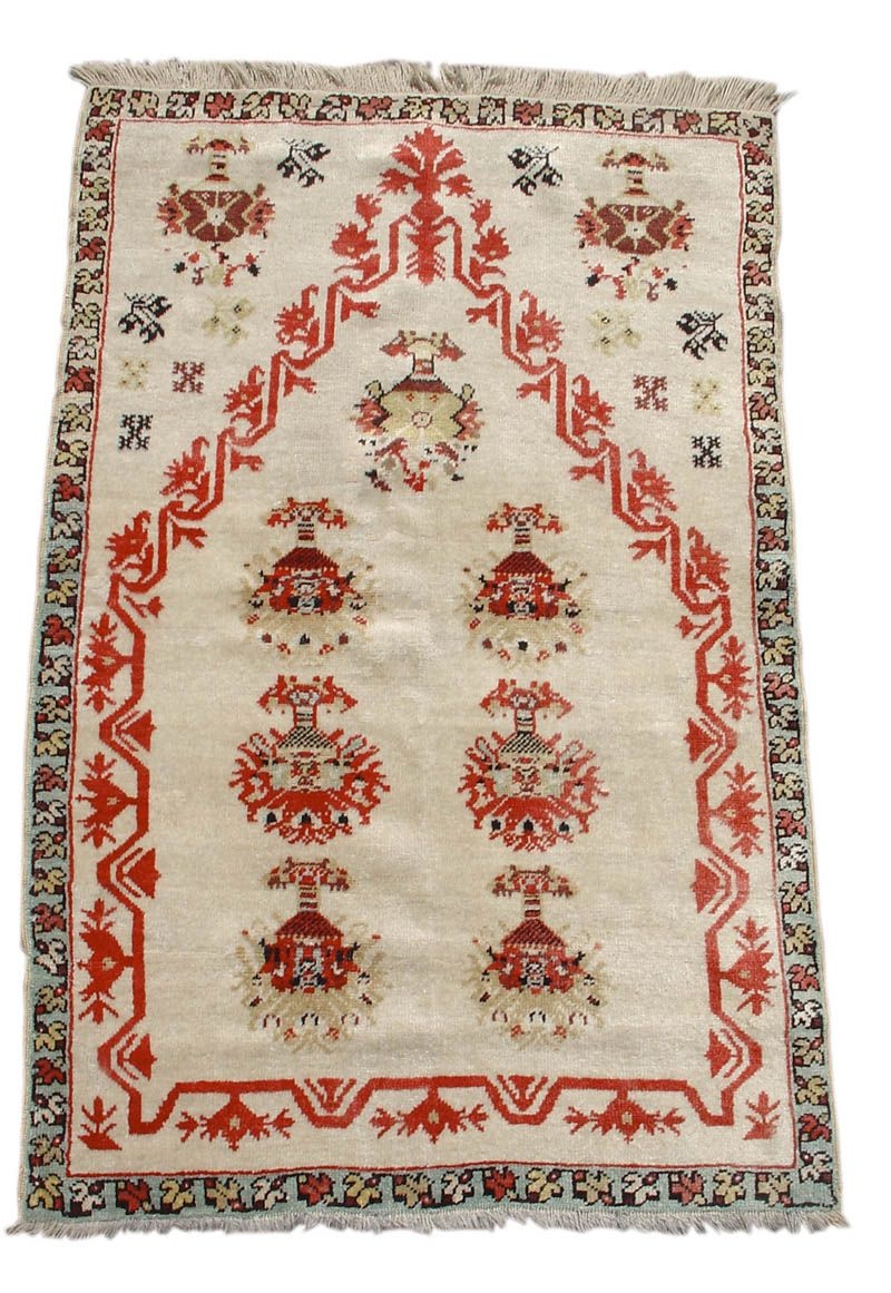 Kirshehir Prayer Rug 19th C (4th Q) Turkey