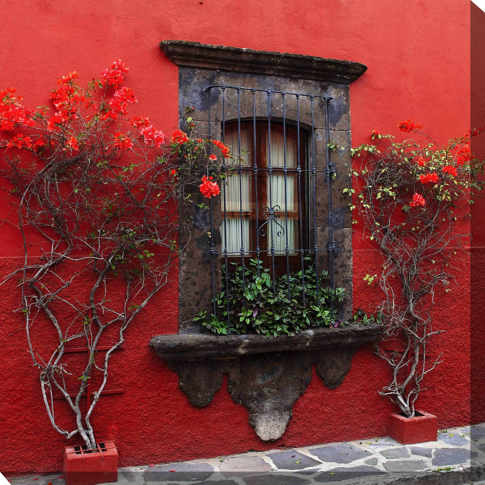 Outdoor Wall Art Amazing Roses In Red Outdoor Wall Art Piece  Outdoor Wall Art Art Pieces Review