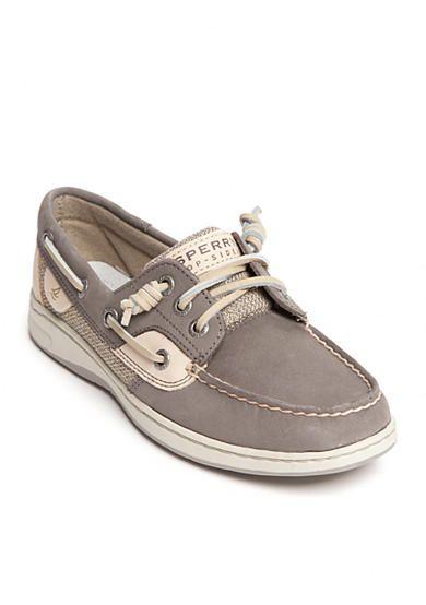 Sperry de los hombres, Slip de oro del holgaz¨¢n en los zapatos NEGRO 10 W