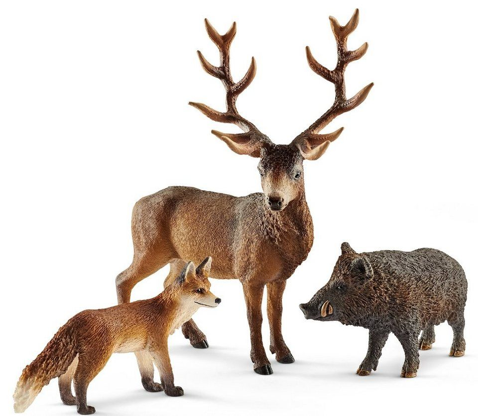 Schleich Wild Life Waldbewohner Europas Waldtiere Tiere Figur Spielzeug 41458