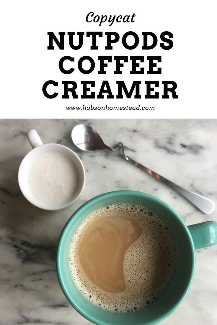 Nutpods Copycat: Dairy Free Coffee Creamer #frenchvanillacreamerrecipe