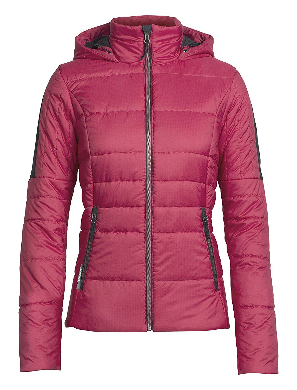 7057064365 Amazon.com : Icebreaker Merino Women's Stratus X Hooded Jacket : Clothing