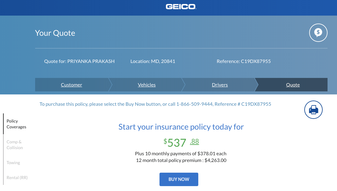 Geico Quote Online Gallery Geico Business Insurance Review For