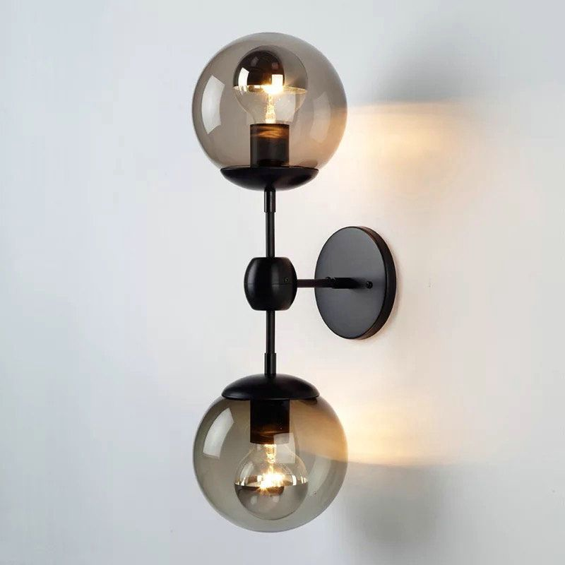 Buy In Stock Vintage Two Lights Bubble Wall Lamp With Lowest Price And Top Service Bedroomlamps Lamparas De Pared Lampara De Pared Paredes Iluminadas