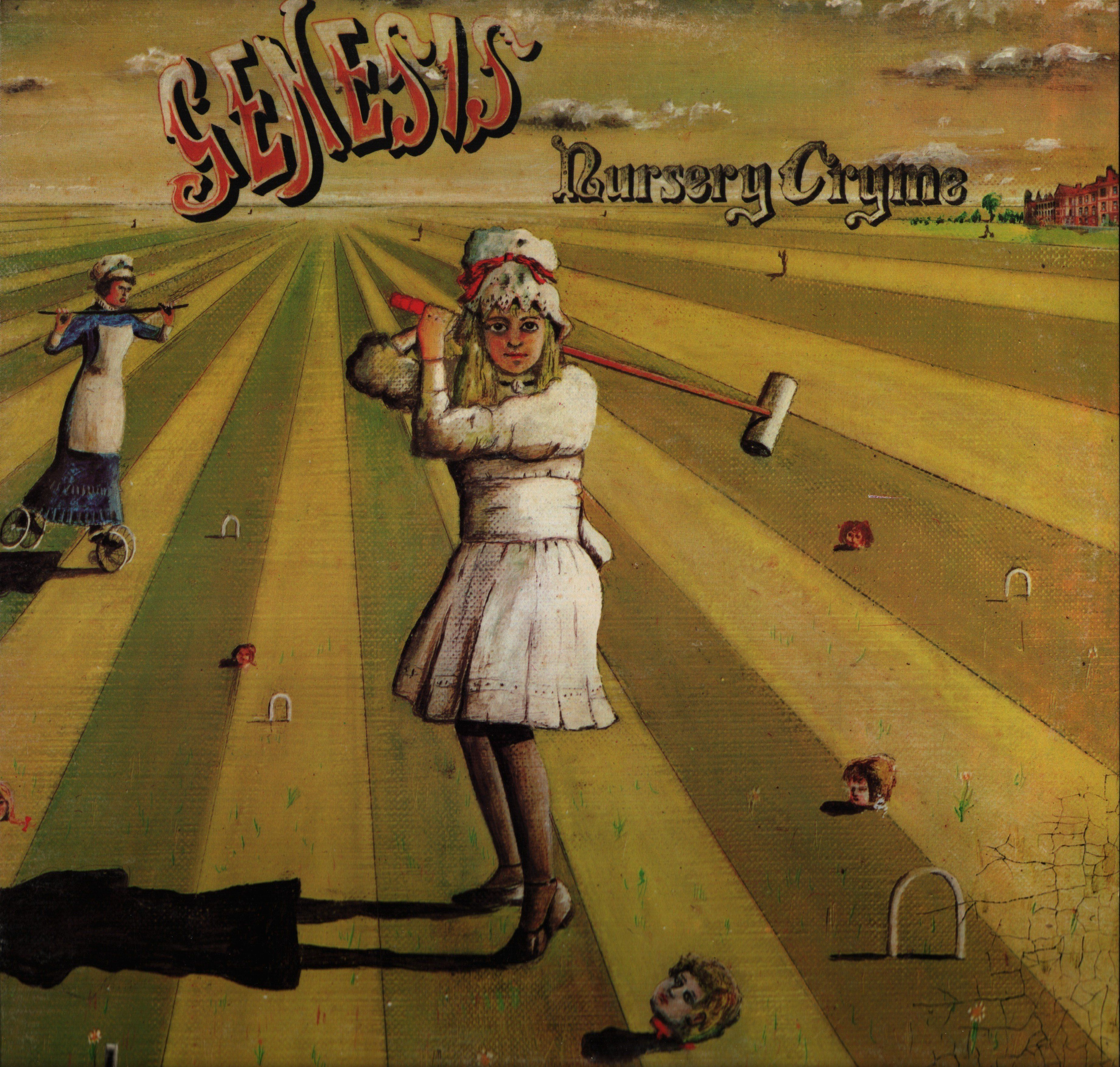 Genesis Nursery Cryme Vinyl Record Al Scratch On Side Two