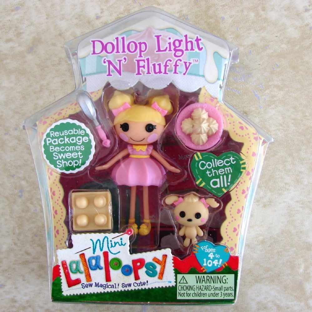 Lalallopsy Mini Doll Dollop Light N Fluffy #5 of Sweet Shoppe Series 10 New