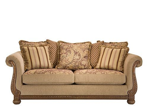 Bailer Chenille Sofa Sofas Raymour And Flanigan Furniture