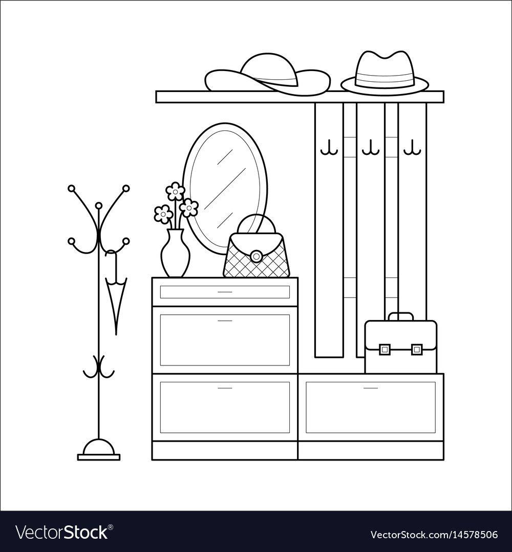 Bookcase Cartoon Black And White In 2020 Book Clip Art Bookshelf Art Cartoon Styles