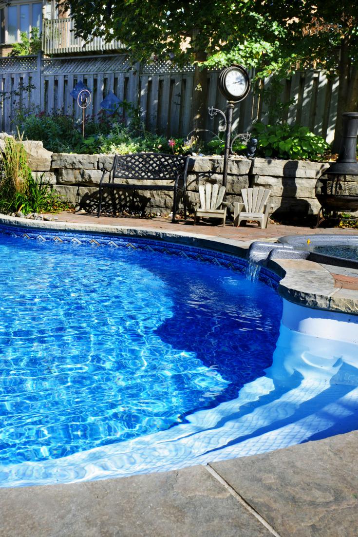 Budget Friendly Pool Renovations For Your Backyard Inground Pool Landscaping Pool Renovation Pool Landscape Design
