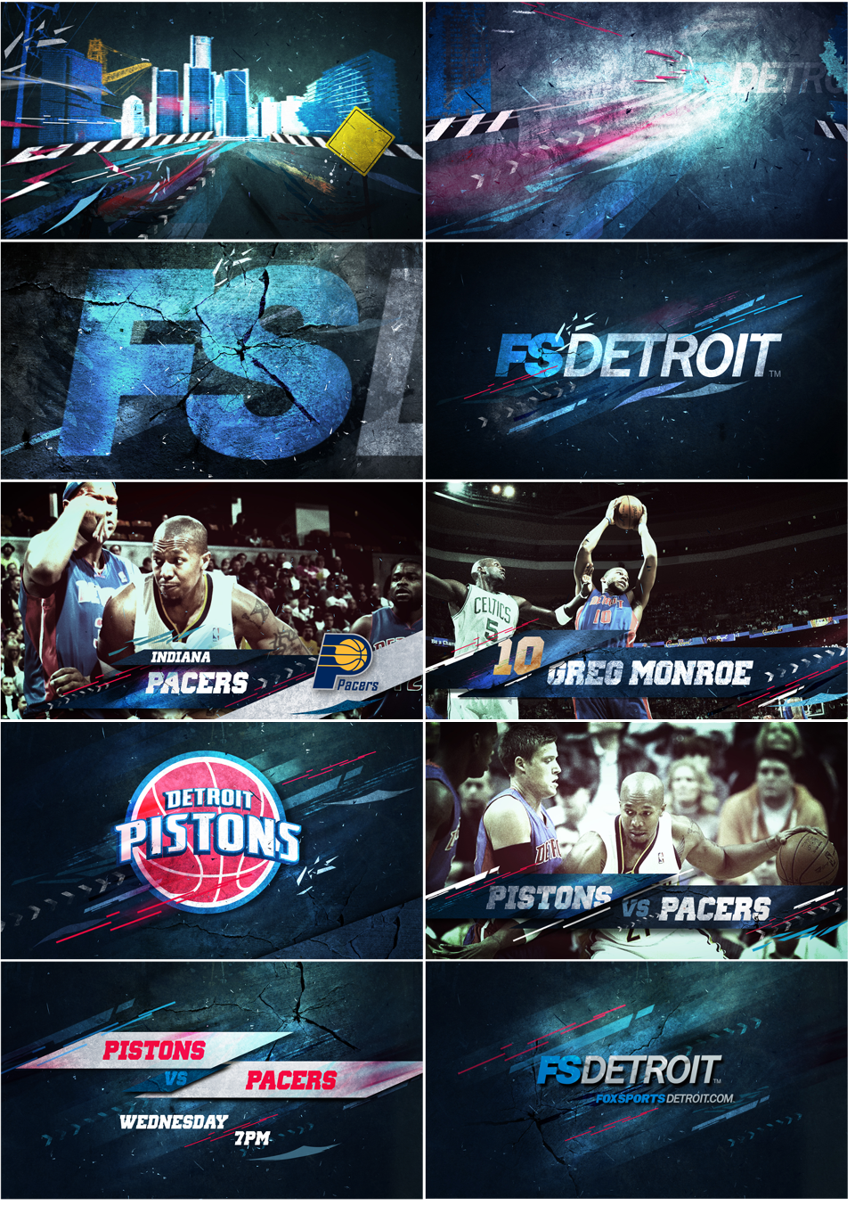 FOX Sports NBA II Nhi Vo Sport poster design, Trade