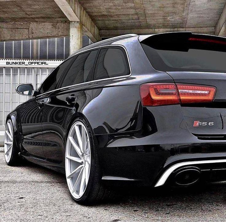 Audi RS6 Wagon.Twin Turbo V8, um deine Scheiße zu schleppen. Genial -         Audi RS6 Wagon.Twin