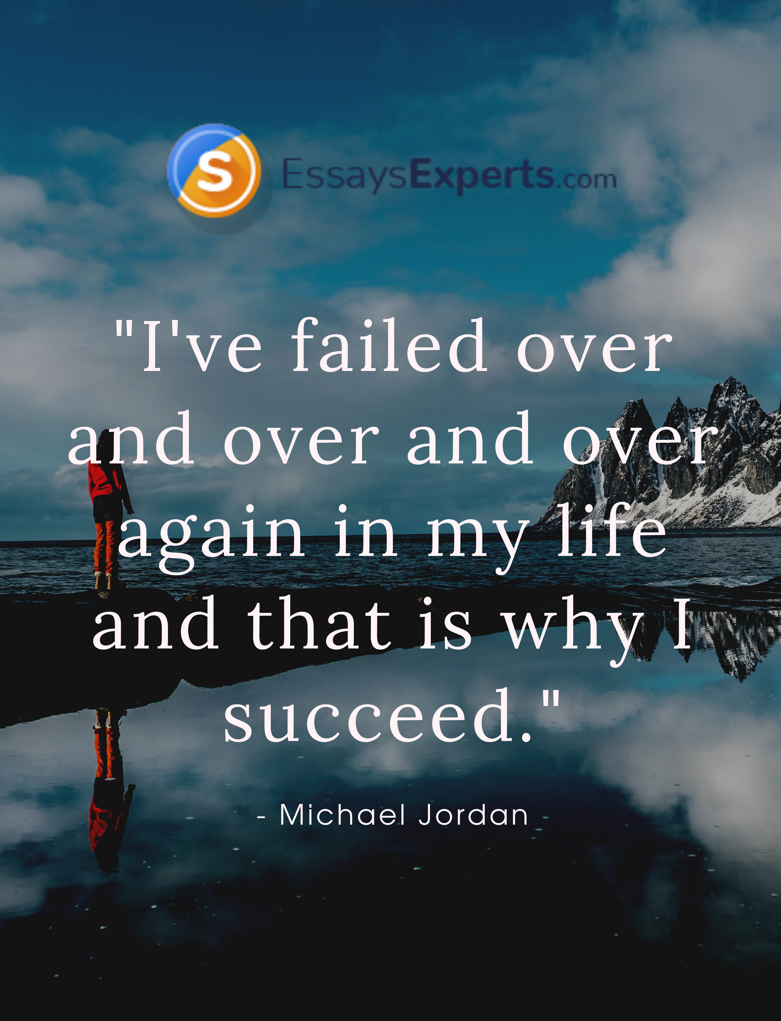 I Ve Failed Over And Again In My Life That Why Succeed Michael Jordan Cute Quote Quotation Essay Writing On