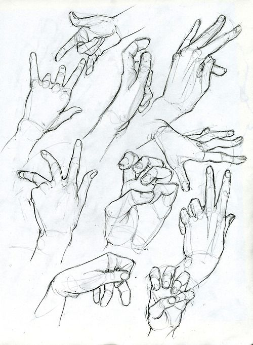 Hand Sketches by ArsonAnthemKJ on DeviantArt