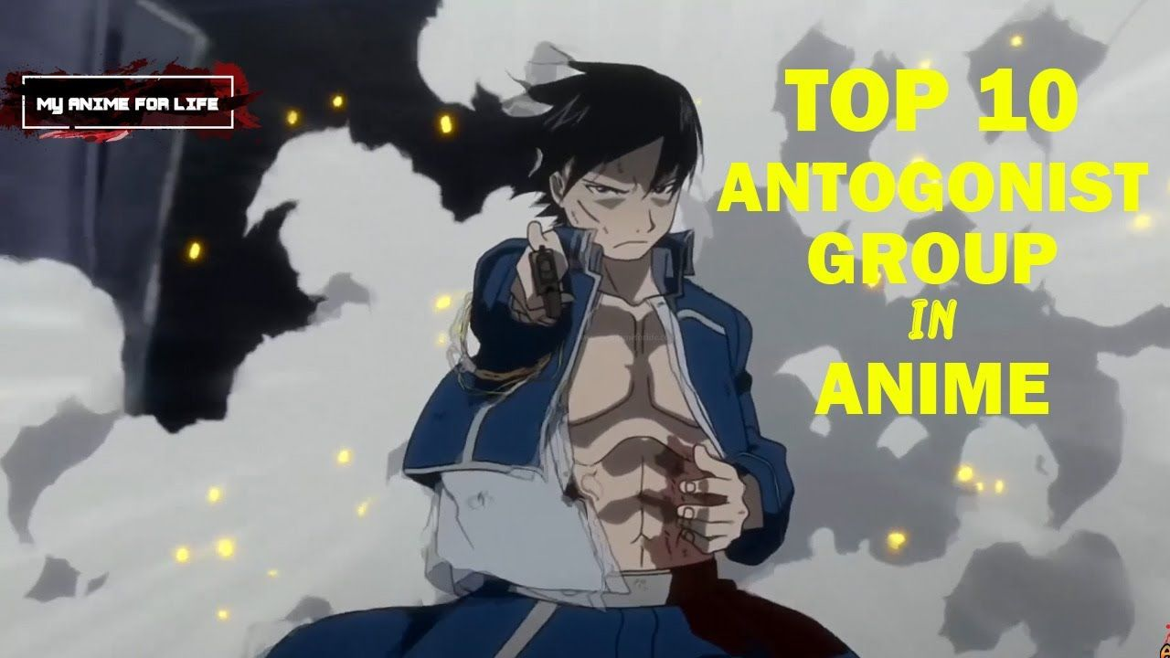 Top 10 Antagonist Groups In Anime Anime Antagonist Anime Memes