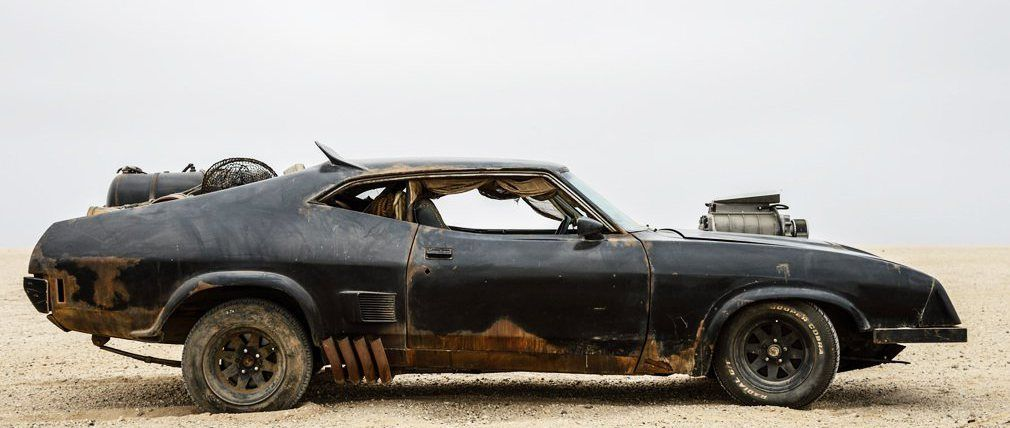Una mirada a los autos asesinos de 'Mad Max: Fury Road'
