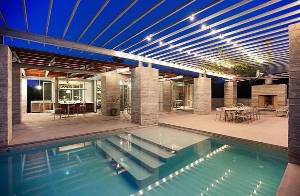 Smart lighting for the pool area