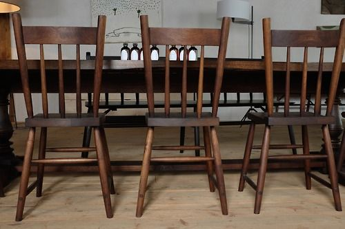Rabbit chairs black walnut sawkille furniture modern for Sawkille furniture