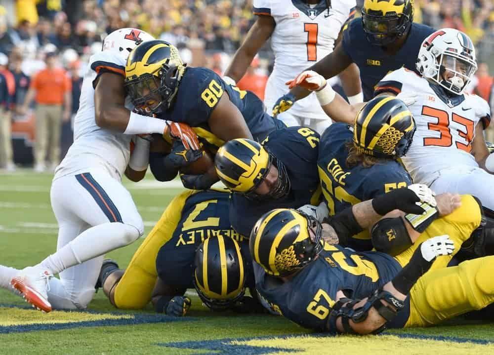 Michigan State at Michigan Predictions Over the last