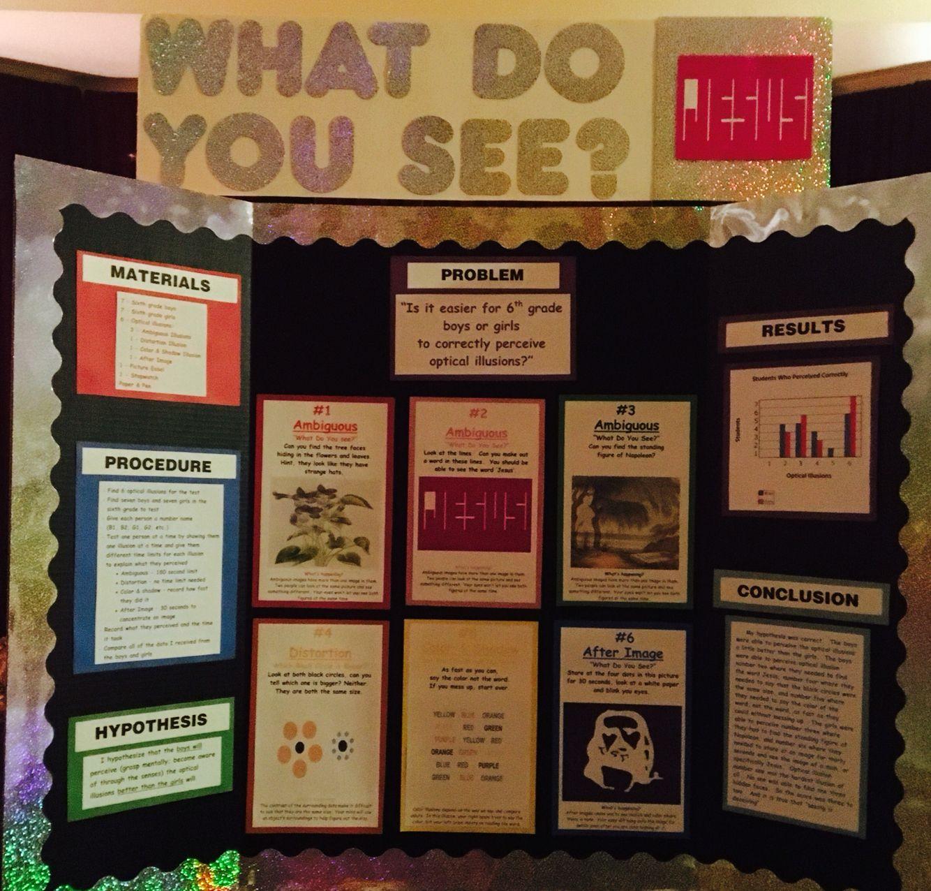 optical illusions school presentation # 9