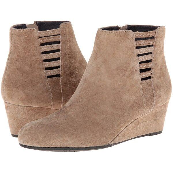 Womens Boots Vaneli Laban Truffle Suede/Mtch Zipper