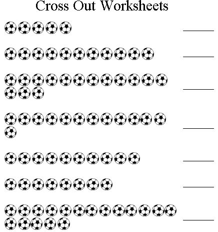 free printable cross out subtraction worksheets | Teaching ...