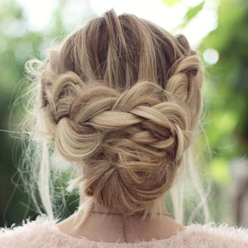 40 Lovely Low Bun Hairstyles For Your Inspiration Low Bun Hairstyles Bun Hairstyles Braided Hairstyles
