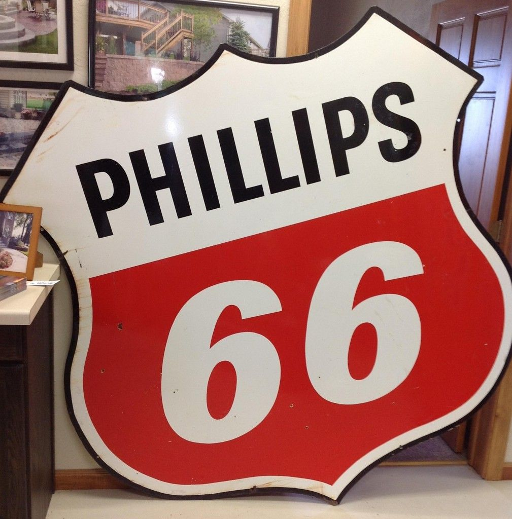 1950 S Phillips 66 Sign Petroliana Pinterest