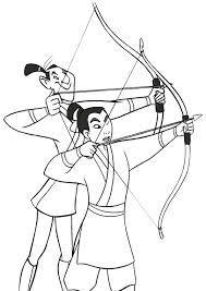 Bildergebnis Für Disney Mulan Ausmalbilder My Disneyfavorites