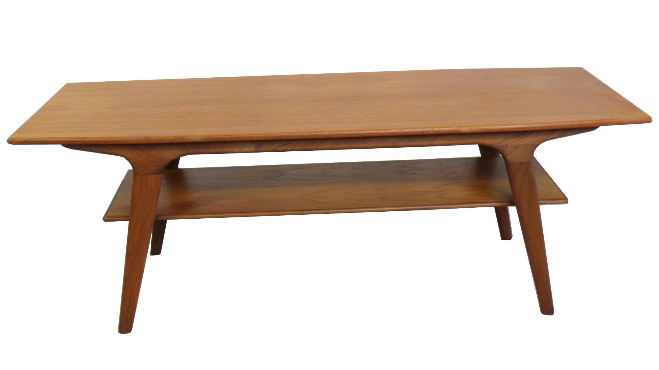 1950 S Danish Modern Teak Coffee Table Modernism Danish Teak Furniture Teak Coffee Table Danish Modern Coffee Table [ 1215 x 2160 Pixel ]