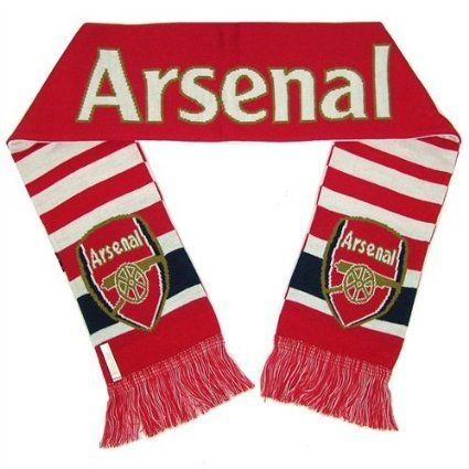 Arsenal FC Gunners Scarf Navy