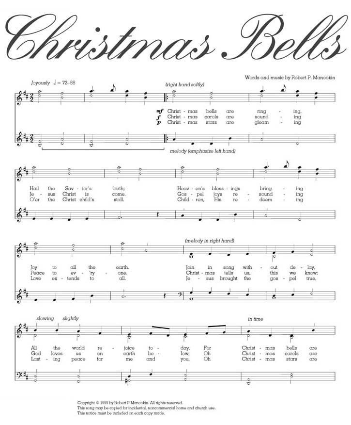 Christmas Bells Are Ringing.Music Christmas Bells Are Ringing Christmas Song