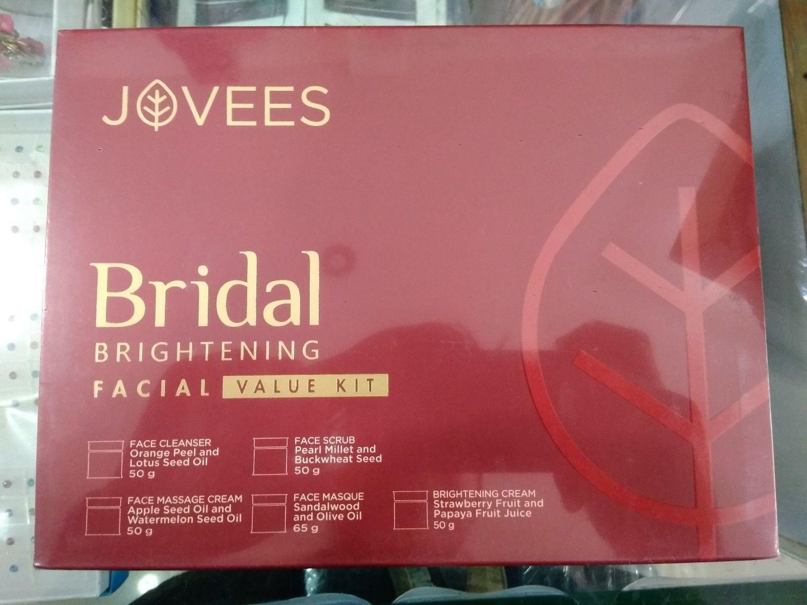 Jovees Bridal Brightening Facial Value Kit For Women - 265gm | Think ...