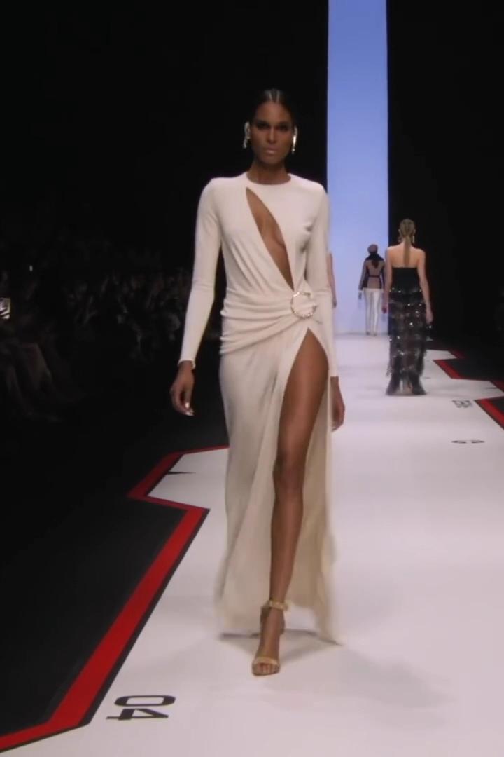 Elisabetta Franchi Stunning Evening Gown