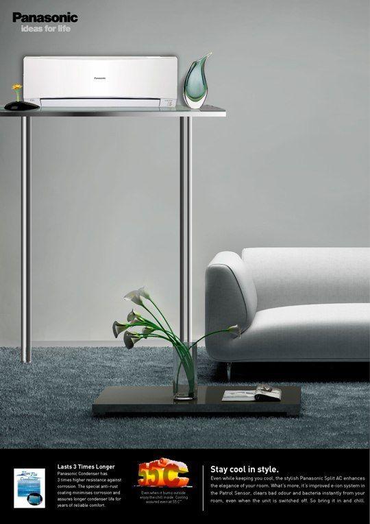 Elegant Line Of Air Conditioners Ac Ad Ads Creative