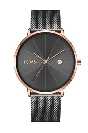 Toms Watch T1898c 952 Q Erkek Kol Saati Stilmeydani Goruntuler Ile Toms Koltuklar Siyah Tayt